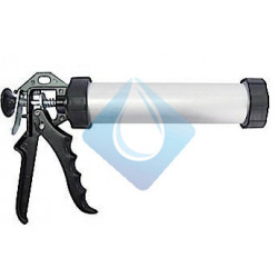 Pistola aluminio masilla silicona Tubular