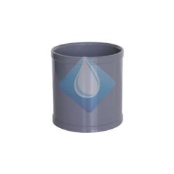 Manguito unión  PVC  H-H deslizante