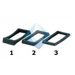 Juntas para rebosadero rectangular Recambio para desagues hidrosanitarios de rebosaderos en  fregaderos.