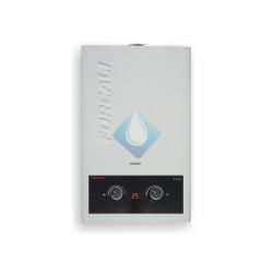 Calentador Gas natural lux  Forcali 10 Litros