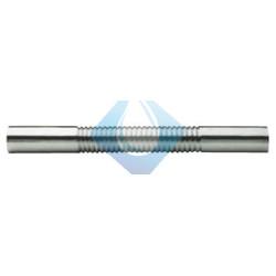 """Tubo alargador coarrugado latón cromado 1 1/4"""" (300mm)"""