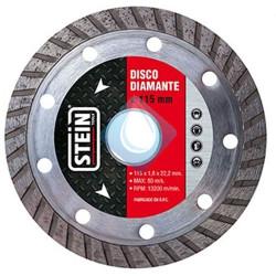 Disco  Stein DIAMANTE Turbo 115 mm. 1.8 x22.21.8 x22.2