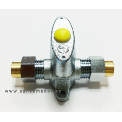Llave corte gas Soldar 12 mm