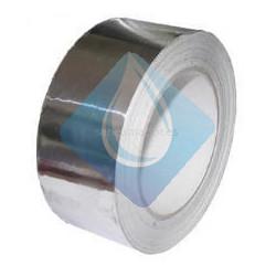 Cinta adhesiva de aluminio 30 Micras X 50 Mts.
