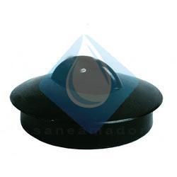 Tapón valvulas desague Negro sin anilla (45 x 50)