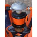 Regulador adaptador de gas Butano Camping para botellas 6 / 12,5 KG AC