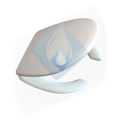 Asiento inodoro HOSPITALITY  bisagra nylon Blanco ASIENTO ADAPTABLE A LOS MODELOS UNIVERSALES Y ROCA VICTORIA