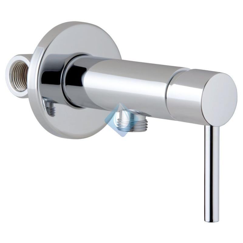 Mezclador para ducha higi nica cromo shattaf for Mezclador grival ducha