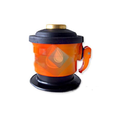 Regulador gas adaptador Camping para botellas 6 /12,5 KG