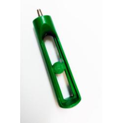 Mini punzón Goteo 2.5 mm puntera de acero