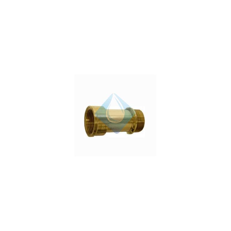 Alargadera grifo dorado 1 2 x 50 mm for Grifo dorado