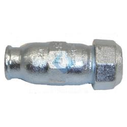 """Abrazadera de reparación tuberia de hierro 1/2"""" Ø"""