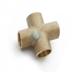 Cruz bronce  Ø16-16-16-16  H-H-H 1180 cu