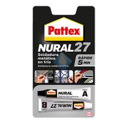 Soldadura en frio Nural 27 PATTEX 5 minutos