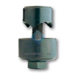 Punzonadora para taladro de tornillo con entrada de tres puntos rothenberger