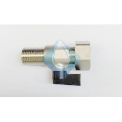 "Grifo llave llenado entrada agua  calentador H 3/4 x M 1/2"" mm"
