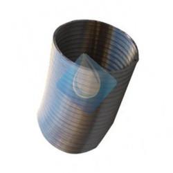 Tubo aluminio flexible extensible 100 Ø