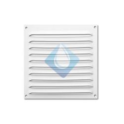 Rejilla Blanca 170 x 170 mm ventilación Atornillar