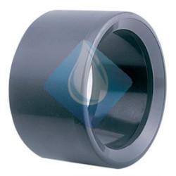 Casquillo Reducido 32 - 25 pvc Presión , indicado para tuberías de PVC presión. Tipo de unión pegado