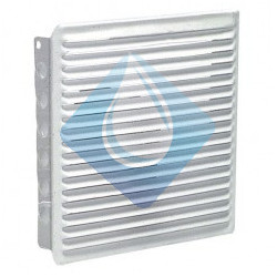Rejilla Blanca 160 x 160 mm ventilación empotrar
