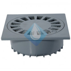 Sumidero sifónico PVC (autolimpiante) 25 x 25 Riuvert