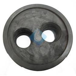 Tapón reductor Ø 110 x 40 x 40 Riuvert Con membrana elastica de goma, mayor comodidad en la instalación
