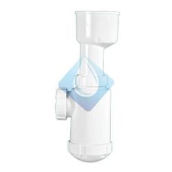 Sifón botella para urinario, salida horizontal R-114