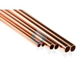 tuberia de cobre en barra 15 - gas agua energia solar aire comprimido