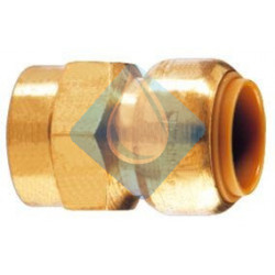 "Enlace Hembra Push-fit Ø 1/2"" x 15 mm"