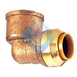 Codo Push-fit Ø 1/2 x 18 mm. atornillar