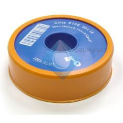 Cinta Rollo teflon Gymcol 12x12x0.75 (PTFE)