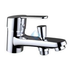 Monomando ba o ducha repisa s12 urban ec1 sin kit de ducha for Repisa bano sin taladro