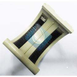 Unión para canalón de 25 cms color Gris