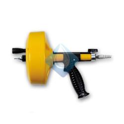 desatascador mecánico tambor 7,5m. - Ø7mm.