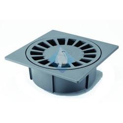 Sumidero sifónico 150 x 150 mm salida integrada hembra 50-40Ø