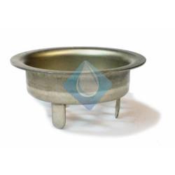 Filtro rejilla para rebosadero pileta en inox