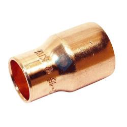 Manguito reducido cobre Ø14 - 22 243CU