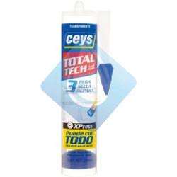 Total Tech adhesivo sellador 290 ml Transparente