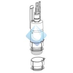 Mecanismo descarga cisterna empotrable Duplo Roca BASIC y TK