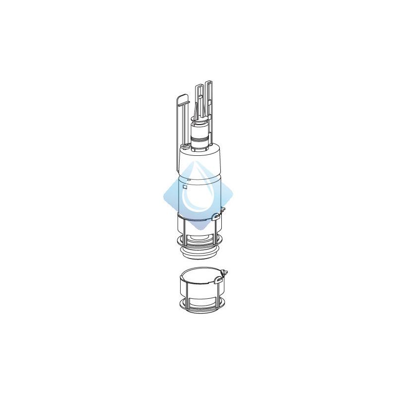 Mecanismo descarga cisterna empotrable duplo roca basic y tk for Mecanismo descarga roca