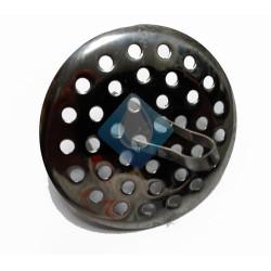 Filtro rejilla para lavabo/fregaderal Acero Inox Ø65