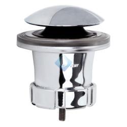 Válvula metalizada con sistema apertura-cierre click-clack 1 1/2