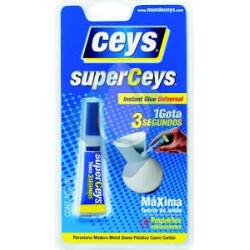 SuperCeys instantaneo glue Universal 1 Gota 3 seg.