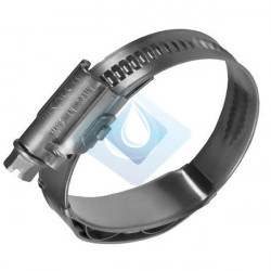 Abrazadera Sin fin LW2  8 - 16 mm Inox