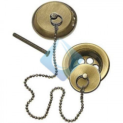 Conjunto de accesorio para bañera Ø70 Cadena de 420 mm