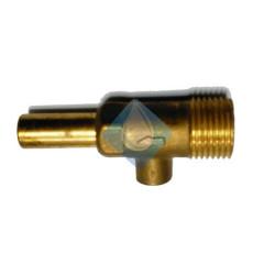 """Grifo llave llenado entrada agua calentador 1/2"""" mm Ø10"""