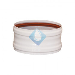 Manguito unión tubo-tubo alupractic Ø110