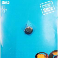Botón pulsador Roca Circular Cromo