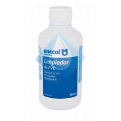 Disolvente para pvc 250 ml. botella