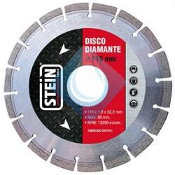 Disco  Stein DIAMANTE Segmentado 115 mm. 1.8 x22.2